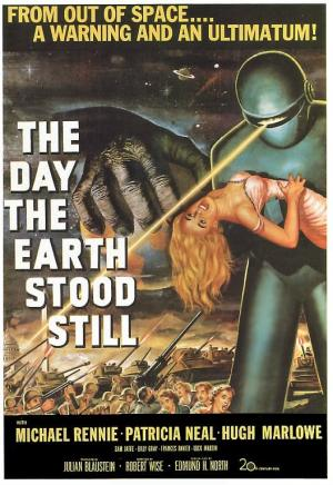 Plakat: the day the earth stood still