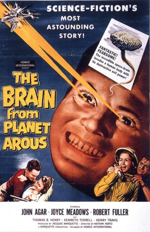 Plakat: The Brain from Planet Arous